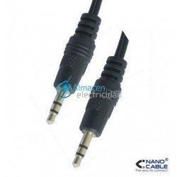 CABLE AUDIO ESTEREO JACK 3,5 DE 1,5 M