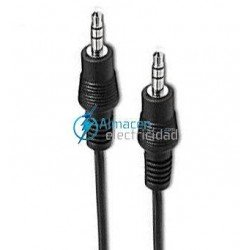 CABLE AUDIO ESTEREO JACK 3,5 DE 3 M