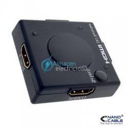 MINI SWITCH HDMI V1.3 3 ENTRADAS-1 SALIDA