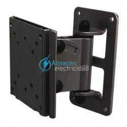 "SOPORTE PARA MONITOR-TV INCLINABLE Y GIRATORIO 10""-23"" NEGRO"