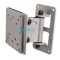 "SOPORTE PARA MONITOR-TV INCLINABLE Y GIRATORIO 10""-23"" PLATA"