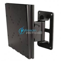 "SOPORTE PARA MONITOR-TV INCLINABLE Y GIRATORIO 10""-32"" NEGRO LP1432TN-B"