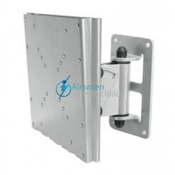 "SOPORTE PARA MONITOR-TV INCLINABLE Y GIRATORIO 10""-32"" PLATA"