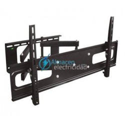 "SOPORTE PARA MONITOR Y TV 32""-63"" INCLINABLE Y GIRATORIO NEGRO"