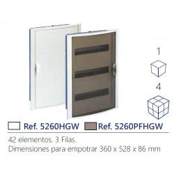 CUADRO ELECTRICO PARA EMPOTRAR EN PLADUR HASTA 42 ELEMENTOS