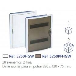 CUADRO ELECTRICO PARA EMPOTRAR EN PLADUR HASTA 28 ELEMENTOS