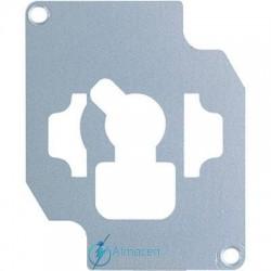 Placa de bloqueo JUNG 18 V para interruptor a llave