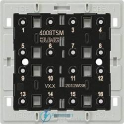 Módulo sensor JUNG bus a 2 hilos JUNG 4008 TSMconectacdonse a estación de reles
