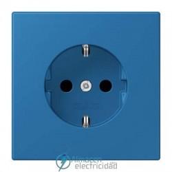 Enchufe SCHUKO 16A-250V JUNG LC 1520 KI 32030 en color bleu céruléen 31