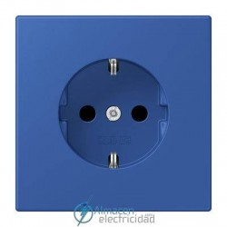 Enchufe SCHUKO 16A-250V JUNG LC 1520 KI 4320K en color bleu outremer 59