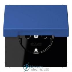 Enchufe SCHUKO 16 A - 250 V JUNG LC 1520 KIKL 4320K en color bleu outremer 59