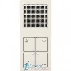 Unidad interior audio estándar JUNG SI 4 A W en color blanco marfil
