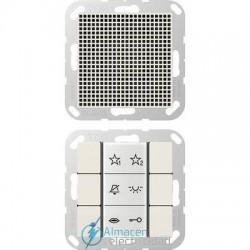 Unidad interior audio JUNG SI AI A 6 W en color blanco marfil