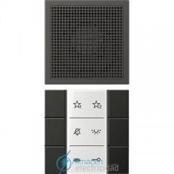 Unidad interior audio JUNG SI AI AL 6 AN en acabado antracita (aluminio lacado)