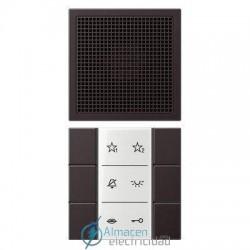 Unidad interior audio JUNG SI AI AL 6 D en color dark (aluminio lacado)
