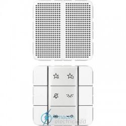 Unidad interior audio JUNG SI AI CD 6 WW en color blanco alpino