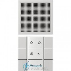 Unidad interior audio JUNG SI AI LS 6 LG en color gris claro