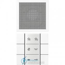 Unidad interior audio JUNG SI AI LS 6 WW en color blanco alpino