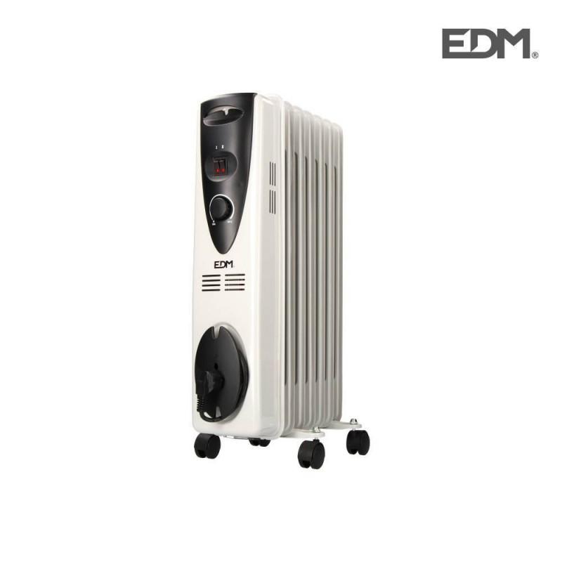 RADIADOR DE ACEITE - 1500W - (7 ELEMENTOS) - EDM