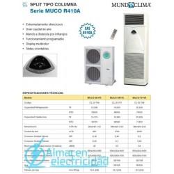 SPLIT COLUMNA MUCO-48 HG (R410A) MUNDOCLIMA