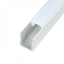 Perfil de aluminio 2 metros SLIM II