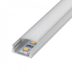 Perfil de aluminio U 2 metro