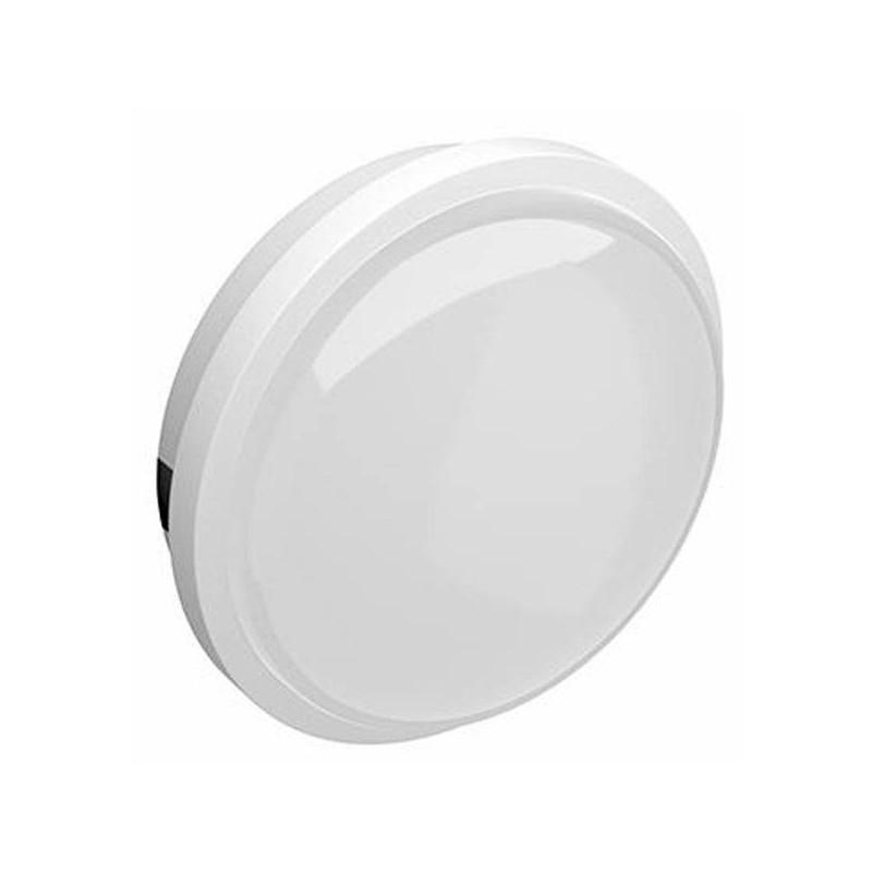Plafón LED Redondo de Superficie Screw Blanco 20W IP65 6500 K FRIO