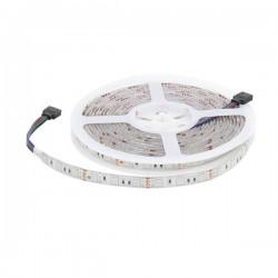 Tira LED 12v DC SMD5050 300 LEDs RGB IP65