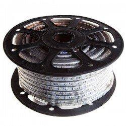 CORTE DE 1 METRO Tira de LED 220VAC 60LED/m 14W/m RGB 50 metros SMD5050 ROZOK ROLLO DE 50 METROS