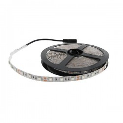 CORTE DE 1 METRO TIRA LED DE 14,4W/M 24V DC RGB IP20 SMD5050 VIDENY ROLLO DE 5 METROS