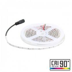 CORTE DE 1 METRO TIRA LED 10W 3000K CALIDO 24V DC IP20 4X5000MM SMD2110 DWARF ROLLO DE 5 METROS