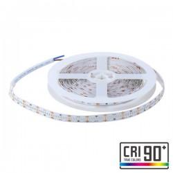 CORTE DE 1 METRO TIRA LED 15W 3000K CALIDO 24V DC 350 LED/M IP20 10X5000MM SMD2110 THICK ROLLO DE 5 METROS