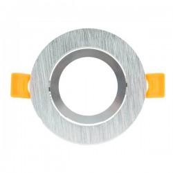Aro basculante redondo níquel para GU10/MR16