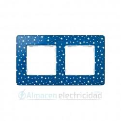 MARCO 2 ELEMENTOS ESTRELLAS azul índigo simon serie Detail 82