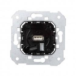 TOMA CARGADOR 5V/DC PUERTO USB Y LATIGUILLO MICRO-USB ANCHA SIMON SERIE 75
