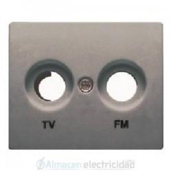 TAPA TOMA TV-FM ACERO NEPTUNO