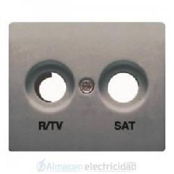 TAPA TOMA R/TV-SAT ACERO NEPTUNO