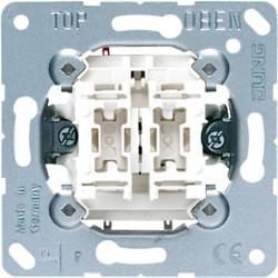 INTERRUPTOR DOBLE ANCHO 10AX/250V JUNG 505U