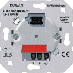 Mecanismo interruptor a triac silencioso hastas 400W JUNG 1244 NVSE