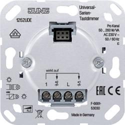 Dimmer con sensor universal de 2canales JUNG 1252 UDE