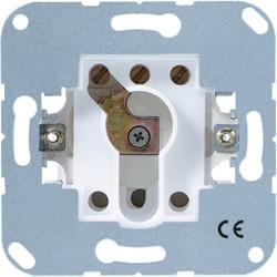 Mecanismo pulsador para persinas a llave sin protección contra desmontaje