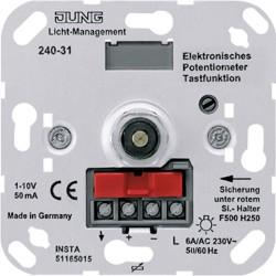 Potenciómetro electrónico de 1 a 10 Vatios JUNG 240-31