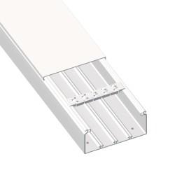 CANAL AISLANTE BLANCO UNEX 30X60 EN PVC, PRECIO X METRO
