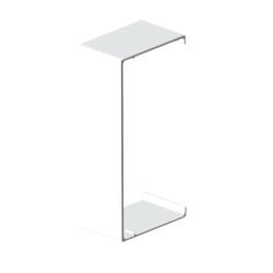Cubrejuntas blanco para canal aislante Unex 40x40 en pvc