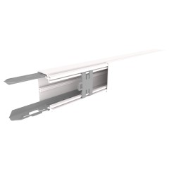 CANAL AISLANTE BLANCO UNEX 40X60 EN PVC, PRECIO X METRO