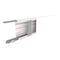 CANAL AISLANTE BLANCO UNEX 40X110 EN PVC, PRECIO X METRO