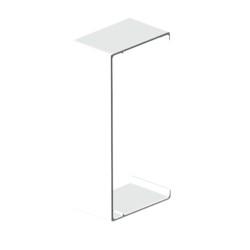Cubrejuntas blanco para canal aislante Unex 40x90 libre de halogenos
