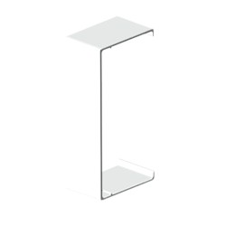 Cubrejuntas blanco para canal porta cables Unex 60x150 libre de halogenos