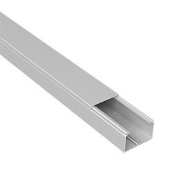 CANAL AISLANTE GRIS UNEX 40X40 EN PVC, PRECIO X METRO