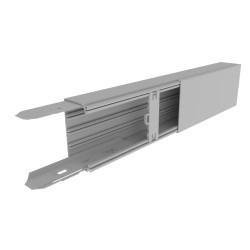 CANAL AISLANTE GRIS UNEX 60X110 EN PVC, PRECIO X METRO